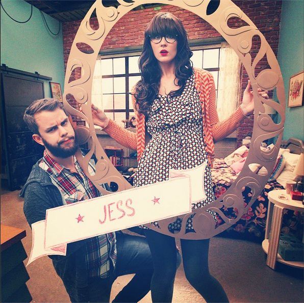 """Couples costume idea! Nick and Jess from """"New Girl"""""""