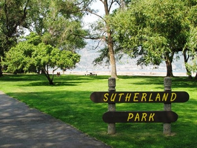 Sutherland Park is located at the corner of Broadway Avenue and Ellis Street - Park with Playground.