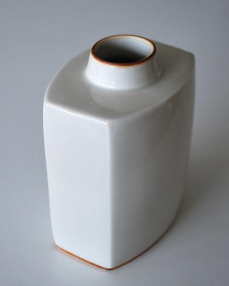 Gertrud Vasegaard, Vase in porcelain, Bing & Gröndahl, Denmark.