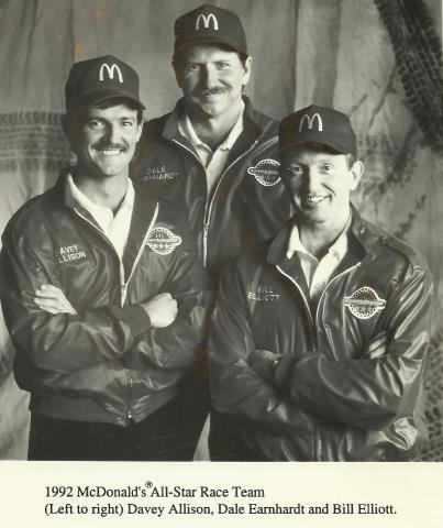 NASCAR !!! Davey, Dale and Bill. #DaleEarnhardt https://www.pinterest.com/jr88rules/dale-earnhardt/