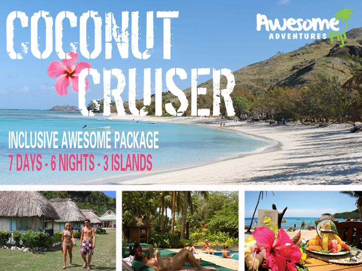 Explore #Fiji with one of our all inclusive #holiday #packages. Leave Port #Denarau in Fiji and see the real Fiji when you visit it's #beautiful #islands.