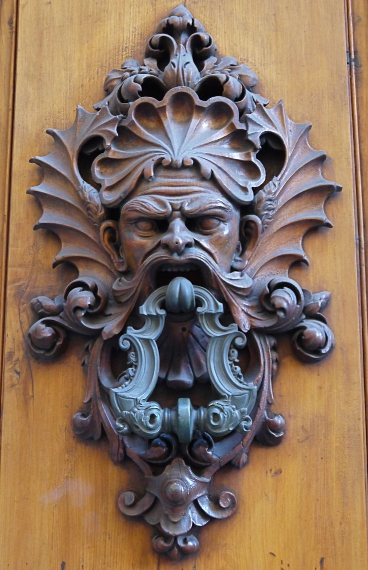 Great Artistic And Ornate DoorKnocker