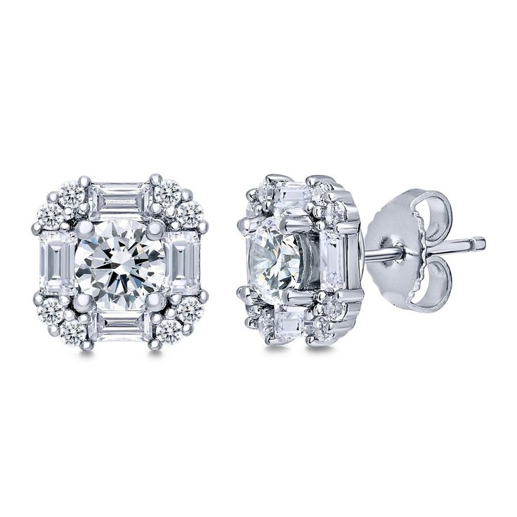 pin franziska fiery deco by art stud cut earrings diamond old mine