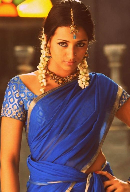 typical festival dressing of tamil girl