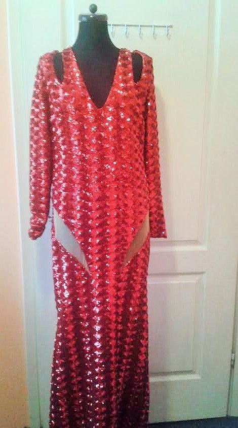 red dress  designer  Gabriela Hezner  /  contact gabrielahez6@gmail.com #dress #redcarped #longdress  #reddress #res