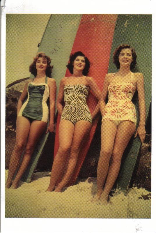 Vintage ladies surf