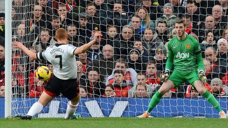 Late equaliser denies Man Utd