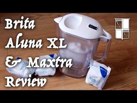 Brita Aluna XL & Maxtra Filter Review - YouTube