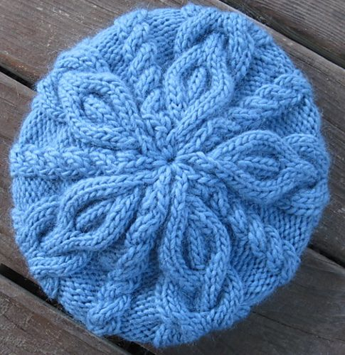 Ravelry: jostrong's slouchy 2-way cabled hat