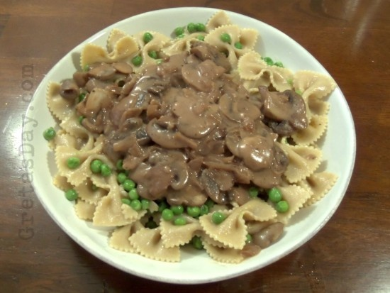 vegetarian vegetarian lifestyle vegetarian cooking mushroom stroganoff ...