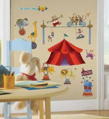 Cu ajutorul stickerului nostru poti aduce circul in camera copiilor! Distractiv si plin de energie, copiii se vor indragosti imediat de el!