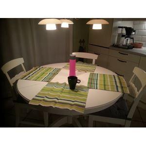 Rundt spisebord, udtrækspla...