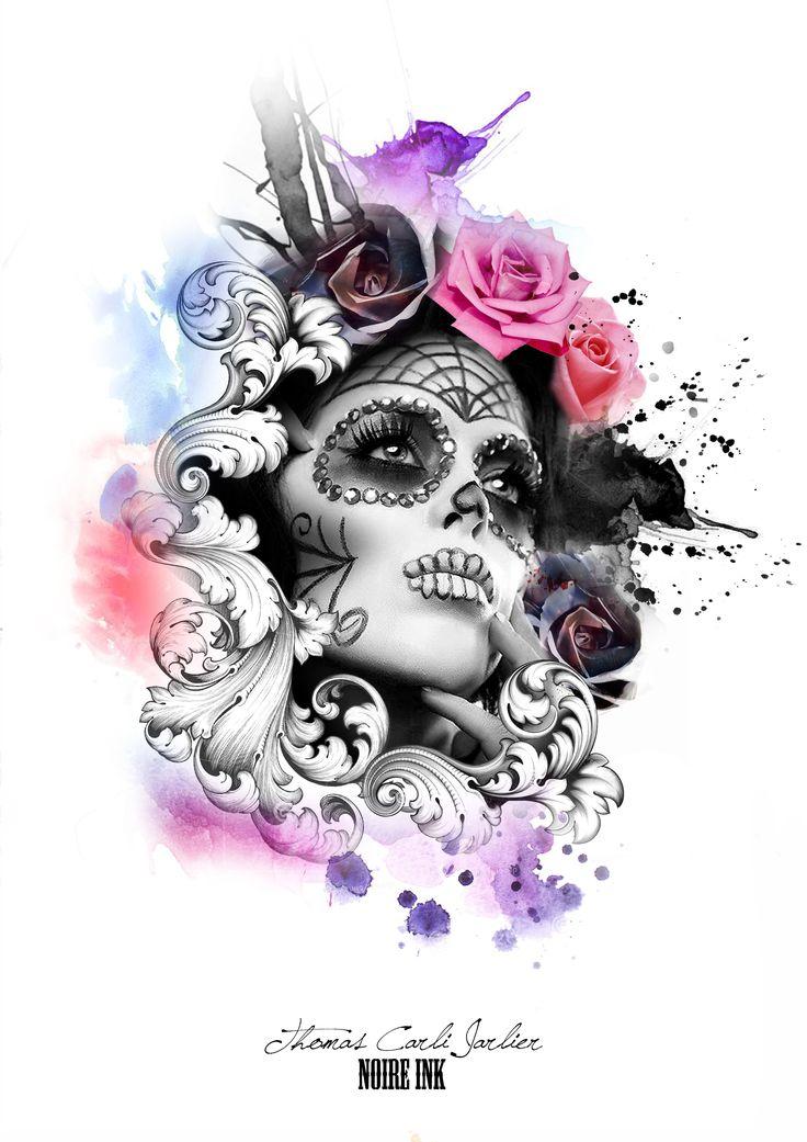 venetian mask watercolour ❤️vanuska❤️