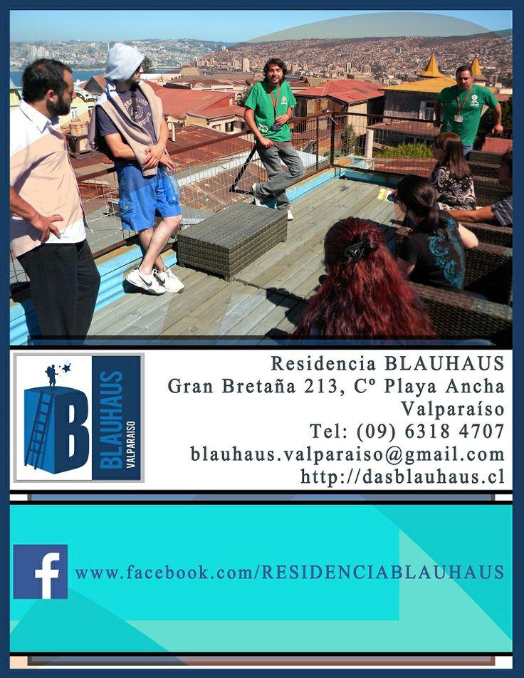 Residencia Blauhaus, Playa Ancha Valparaíso.