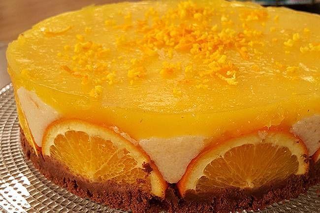 Portakallı bisküvili irmik tatlısı tarifi