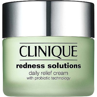 Clinique Redness Solutions Daily Relief Cream - Extra-gentle, oil-free moisturizing cream instantly calms skins with visible redness - even skins with Rosacea.