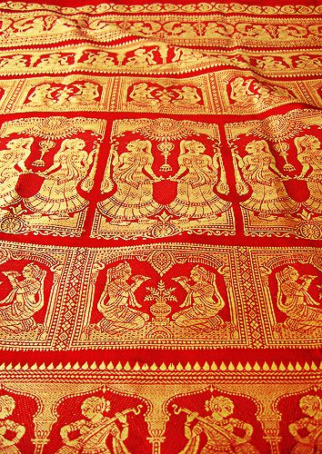 From Bengal, the Baluchari saree has been given the status of a geographical…