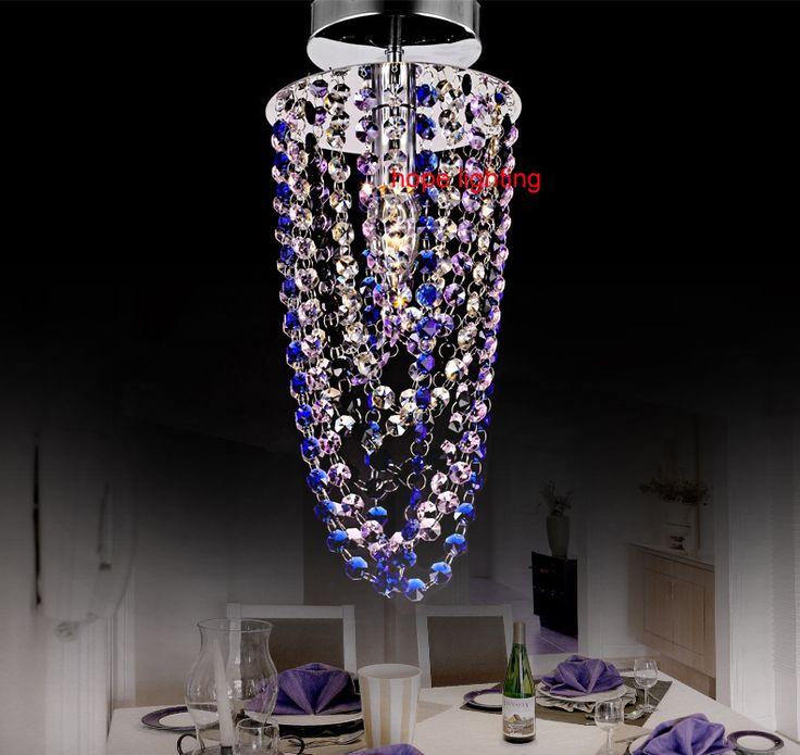 Кристалл потолочные светильники СВЕТОДИОДНЫЕ потолочные светильники для гостиной современные кристалл освещение потолка бесплатная доставка кристалл подвесные светильники