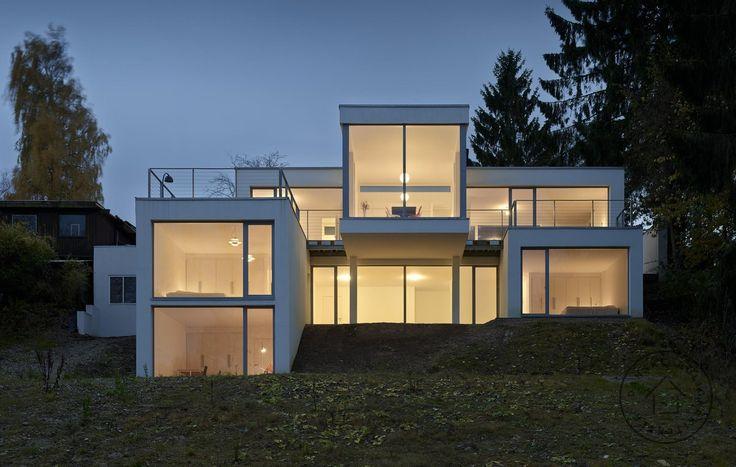 Ombygning af 60'er hus til moderne villa