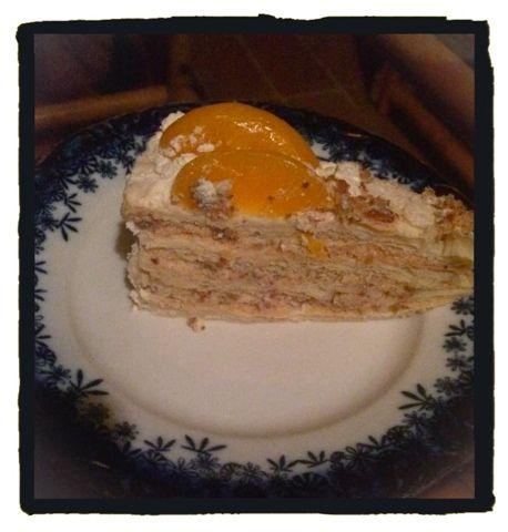 Dragi moji, danas cu vam predstaviti jedan recept torte koju sam odavno zelela praviti. Imam ga odavno, tortu sam probala isto tako odavno i...