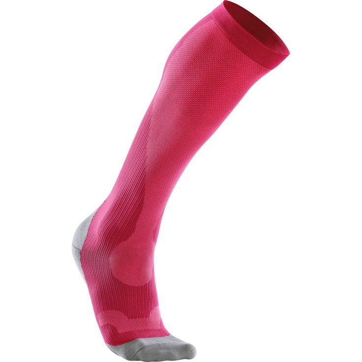 Les mer om 2XU Performance Run Sock, kompresjonsstrømper dame. Trygg handel med Prisløfte og 100 Dagers Åpent Kjøp