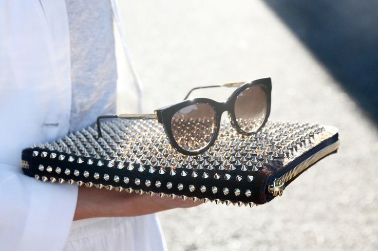 : Spikes, Cat Eye, Ipad Cases, Clutches, Street Style, Laptops Cases, Christian Louboutin, Accessories, Sunglasses