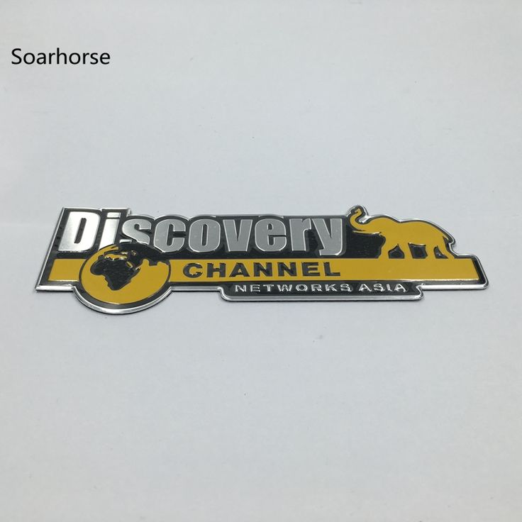 Soarhorse Aluminum Discovery Channel Networks Asia Car Body Rear Trunk Emblem Badge Sticker For Jeep for Dodge for Land Rover. Yesterday's price: US $7.99 (6.59 EUR). Today's price: US $7.03 (5.78 EUR). Discount: 12%.