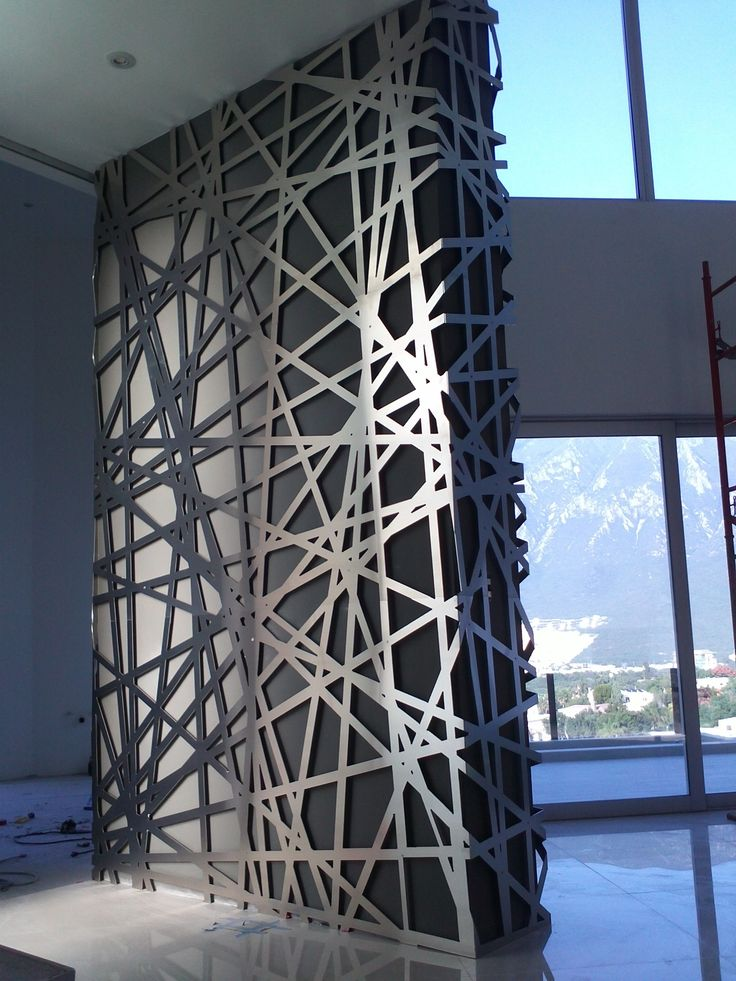 Lagos del Vergel Aluminum Lattice, Monterrey Mexico, By Relieves