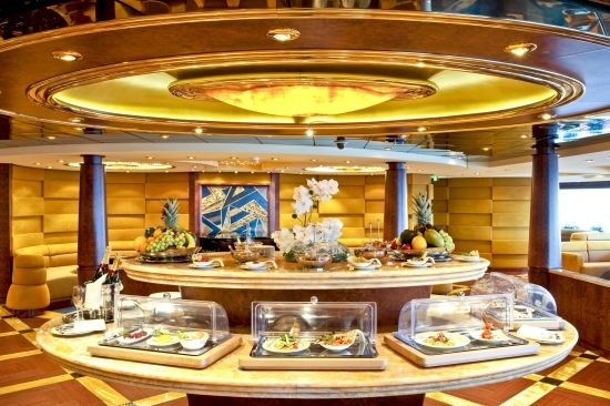 The #YachtClub buffet is not your average dining experience!