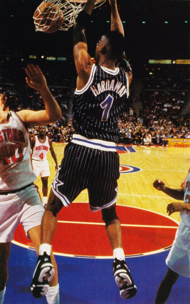 Laimbeer Becomes A Poster Boy, '94.