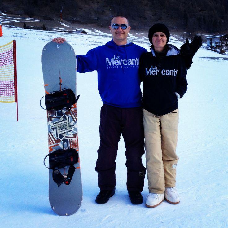 La Mercanti Italy - snowboarding