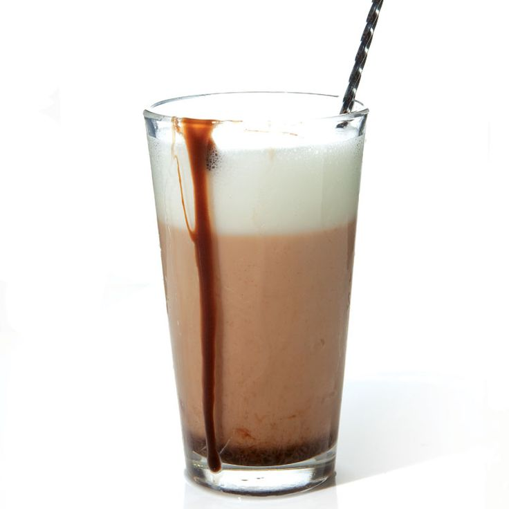 Chocolate Egg Cream-- For many kids, it's a relief to discover there's no actual egg in a chocolate egg cream—just a frothy mix of cold milk, seltzer, and rich chocolate syrup.