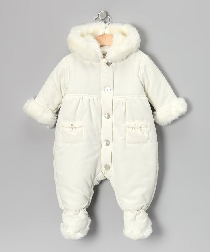 Hello Kitty Infant Girls Plush White Cat Snowsuit Baby Pram Sleeper Sold by The Primrose Lane. $ $ Pink Platinum Baby Girls One Piece Warm Winter Puffer Snowsuit Pram Bunting. Sold by Children's Island. $ Carter's Carters Infant Girls Plush Gray & White Zebra Snowsuit Baby Pram Snow Suit.