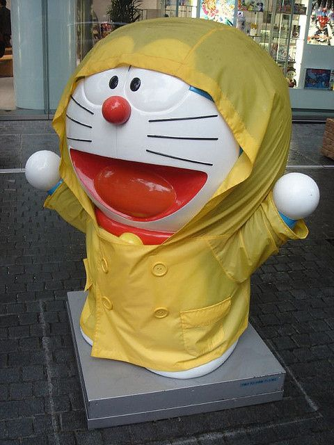 Statues that get their own raincoat | 14 Things You Will Only Find In Japan @Amanda Northfell