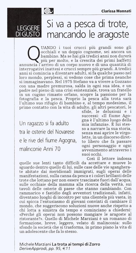 Tuttolibri della Stampa, 26 agosto 2006