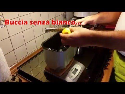 Plumcake al Limone con la Macchina del Pane Silvercrest