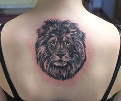 lion back tattoo - Google Search                                                                                                                                                                                 More