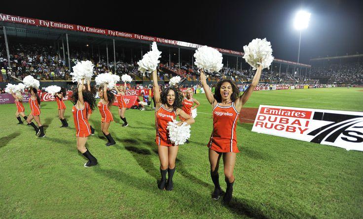 The Aggreko Dynamos from the 2012 Emirates Airline Dubai Rugby Sevens #AggrekoDynamos #Cheerleaders #Dubai7s