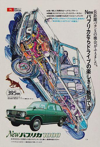 Toyota Publica 1000, 1969.