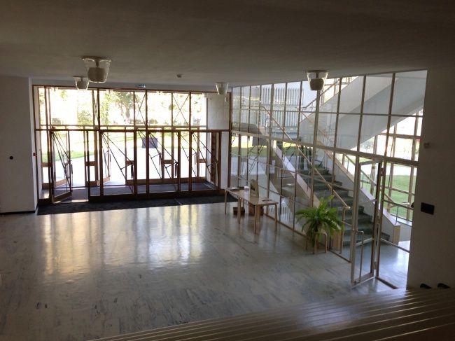 Библиотека Аалто в Выборге. Центральный вестибюль. Фотография © «ДНК аг»
