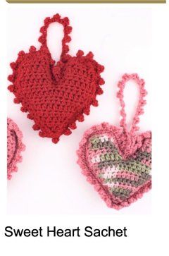 Free crochet heart patterns to get you ready for the upcoming holidays