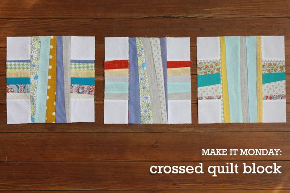 Crossed Quilt Block