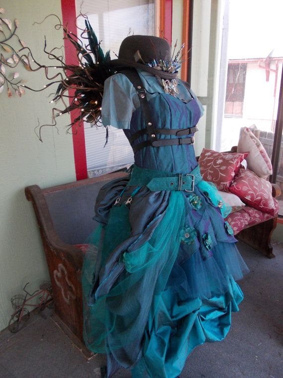 Steampunk Fairy Costume with L.E.D. Wings