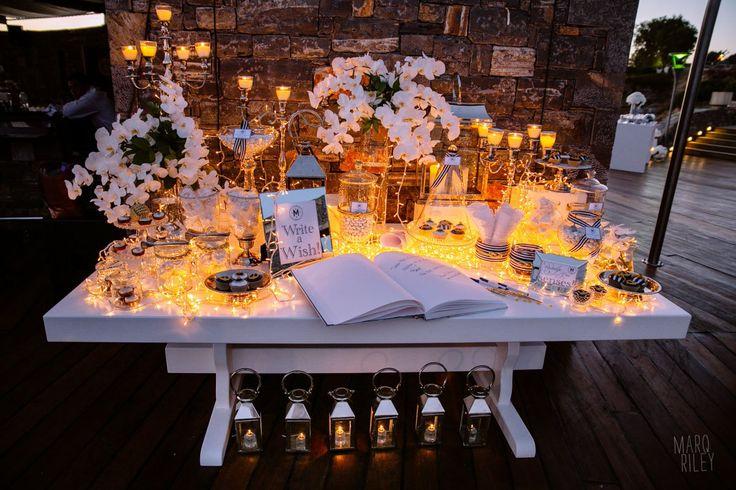 Ultra Marine Chic Wedding @ Veghera Lagonissi Resort   De Plan V