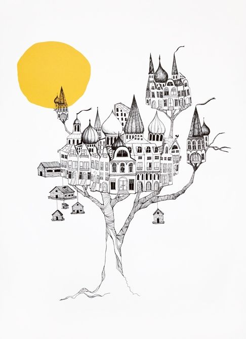 MINI EMPIRE #illustration #castles