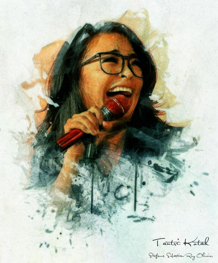 .....  Tantri Kotak   Digital Art   Painting   ....