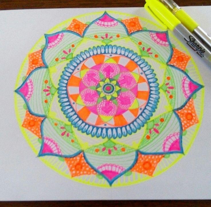 #Mándala #Zen #ZenArt #Color #Colores