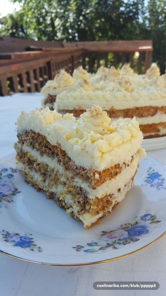 Cake with walnuts and coconut - Vegeta