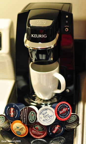 "Keurig Mini Brewer. I think this is a ""gotta have it"" for the college dormroom...(:"