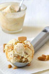 Παγωτό καραμέλα xωρίς παγωτομηχανή/No-churn caramel ice cream